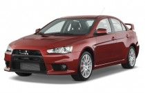 2008 Mitsubishi Lancer 4-door Sedan Man Evolution GSR Angular Front Exterior View