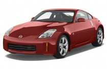 2008 Nissan 350Z 2-door Coupe Auto Touring Angular Front Exterior View