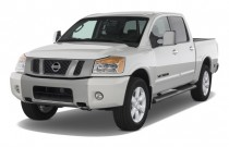 2008 Nissan Titan 4WD Crew Cab SWB LE Angular Front Exterior View