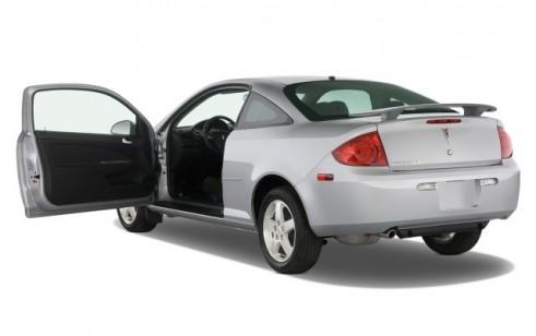 2008 Pontiac G5 2-door Coupe Open Doors
