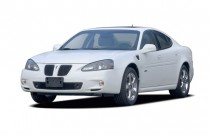 2008 Pontiac Grand Prix 4-door Sedan GXP Angular Front Exterior View