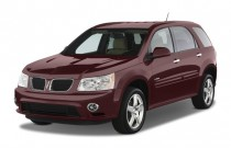 2008 Pontiac Torrent FWD 4-door GXP Angular Front Exterior View