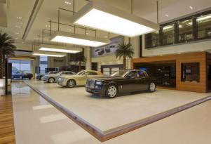 Rolls-Royce Showroom in Abu Dhabi