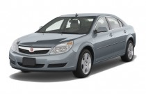 2008 Saturn Aura 4-door Sedan XE Angular Front Exterior View