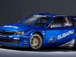 2008 Subaru WRX STI WRC rally car
