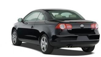2008 Volkswagen Eos 2-door Convertible DSG Turbo Angular Rear Exterior View