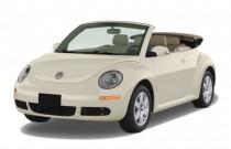 2008 Volkswagen New Beetle Convertible 2-door Auto S Angular Front Exterior View