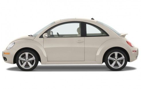 2008 Volkswagen New Beetle Coupe 2-door Auto S Side Exterior View