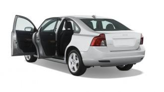 2008 Volvo S40 4-door Sedan 2.4L Man FWD Open Doors
