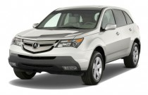 2009 Acura MDX AWD 4-door Angular Front Exterior View