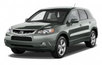2009 Acura RDX AWD 4-door Tech Pkg Angular Front Exterior View
