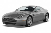 2009 Aston Martin Vantage 2-door Coupe Man Angular Front Exterior View