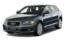 2009 Audi A3 4-door HB AT S tronic 2.0T FrontTrak Angular Front Exterior View