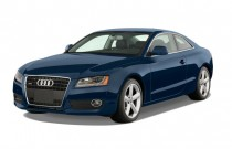 2009 Audi A5 2-door Coupe Auto Angular Front Exterior View