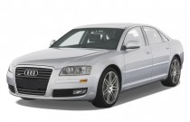 2009 Audi A8 4-door Sedan Angular Front Exterior View