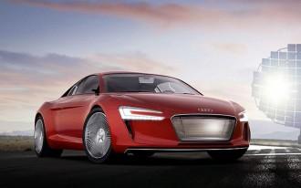 2009 Audi R8 E-Tron Concept Revealed