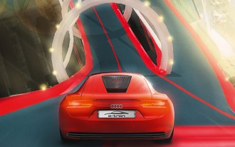 Run A Virtual, Vertical Lap In The Audi R8 E-Tron Concept