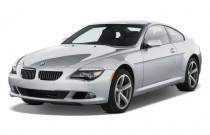 2009 BMW 6-Series 2-door Coupe 650i Angular Front Exterior View
