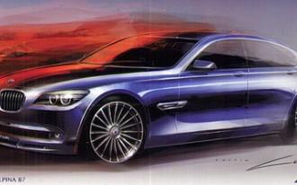 BMW Alpina B7 To Sport Twin-Turbo V-8 With 507 hp