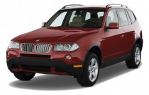 2009 BMW X3-Series AWD 4-door 30i Angular Front Exterior View