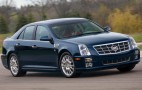 2011 Cadillac STS Ditches The V-8