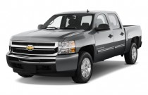 "2009 Chevrolet Silverado 1500 Hybrid 2WD Crew Cab 143.5"" 1HY Angular Front Exterior View"
