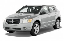 2009 Dodge Caliber 4-door HB R/T Angular Front Exterior View