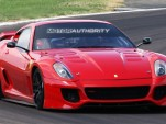 Live shots of Ferrari's 'Laboratorio Technologico' 599XX
