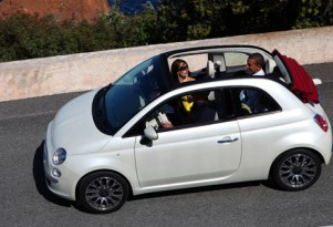 2009 Fiat 500C convertible