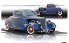 Ford Shows Off '34 Hot Rod With EcoBoost V-6