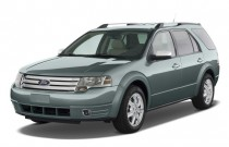 2009 Ford Taurus X 4-door Wagon Limited AWD *Ltd Avail* Angular Front Exterior View