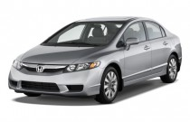 2009 Honda Civic Sedan 4-door Auto EX-L w/Navi Angular Front Exterior View