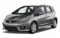 2009 Honda Fit 5dr HB Auto Sport w/Navi Angular Front Exterior View