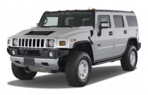 2009 HUMMER H2 4WD 4-door SUV Angular Front Exterior View