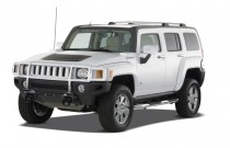 2009 HUMMER H3 4WD 4-door SUV H3X Angular Front Exterior View