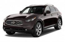 2009 Infiniti FX50 AWD 4-door Angular Front Exterior View