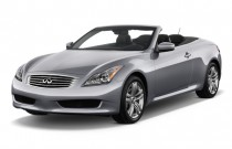 2009 Infiniti G37 Convertible 2-door Base Angular Front Exterior View
