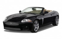 2009 Jaguar XK 2-door Convertible XKR Angular Front Exterior View