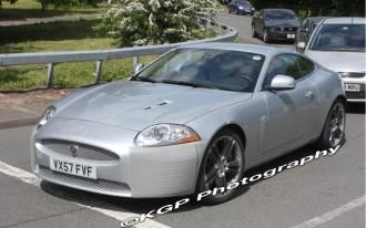 2009 Jaguar XK: Spied!