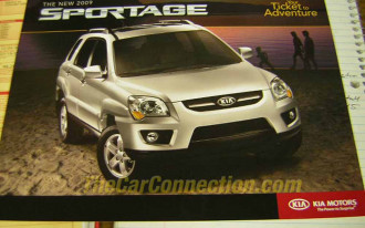 2009 Kia Sportage: From the Brochure