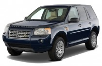 2009 Land Rover LR2 AWD 4-door HSE Angular Front Exterior View