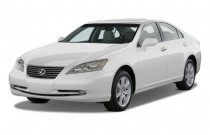 2009 Lexus ES 350 4-door Sedan Angular Front Exterior View