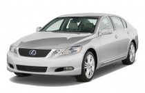 2009 Lexus GS 450h 4-door Sedan Hybrid Angular Front Exterior View