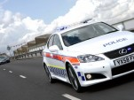 2009 Lexus IS-F police car
