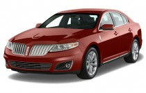 2009 Lincoln MKS 4-door Sedan AWD Angular Front Exterior View