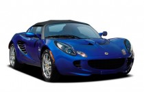 2009 Lotus Elise 2-door Convertible Angular Front Exterior View