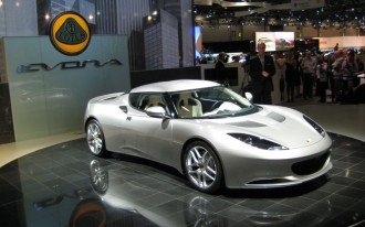 London Motor Show: 2009 Lotus Evora