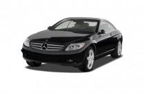 2009 Mercedes-Benz CL Class 2-door Coupe 5.5L V8 4MATIC AWD Angular Front Exterior View