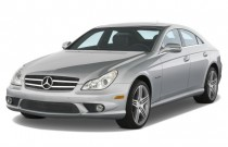 2009 Mercedes-Benz CLS Class 4-door Sedan 6.3L AMG Angular Front Exterior View