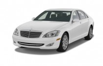 2009 Mercedes-Benz S Class 4-door Sedan 5.5L V8 RWD Angular Front Exterior View